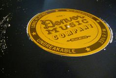 Denver Music Co. logo print