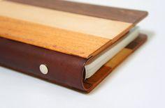 木の手帳カバー | Kobito