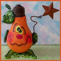 pdf epattern HaLLoWeeN JaCk O LaNtErN rEcYcLeD LiGhT by primchick, $7.50