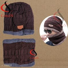 Caps & Hats Woolen Warm Cap Material: Wool Multipack: 2 Sizes: Free Size Country of Origin: India Sizes Available: Free Size *Proof of Safe Delivery! Click to know on Safety Standards of Delivery Partners- https://ltl.sh/y_nZrAV3  Catalog Rating: ★4.3 (1423)  Catalog Name: Styles Unique Men Caps & Hats CatalogID_1128152 C65-SC1229 Code: 203-7069910-