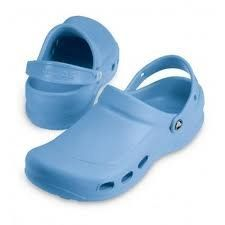 MEN'S CROCS WORK SHOES, Size 11, LIGHT BLUE, Medium Width by crocs. $32.99. The Ultimated Comfort Shoe for the Workplace; Odor and Bacteria Resistant, Easy to Clean and Quick to Dry. Footbed Surface Increases Blood Circulation in Foot and Lower Leg. Designed to Meet Workplace Standards with Closed Heel; Non-Marking Soles. Constructed of Croslite Material for Maximum Lightweight Cushioning and Durability. Enclosed Design Protects Foot; Thicker Metatarsal Area Provides Adde...