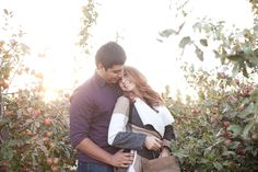 Stillwater Engagement Photographer | Aamodt's Apple Orchard - JM Photography