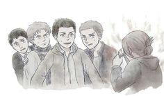 Galliard | Marcel (Berwick) | Reiner | Bertholdt | Annie | Shingeki no Kyojin |  Attack on titan | SNK | Marley