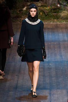 Défilé Dolce & Gabbana Automne-hiver 2014-2015 Prêt-à-porter -...