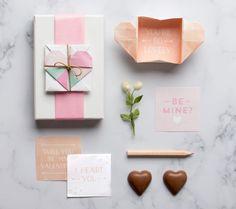 FREE Printable Surprise Heart Box