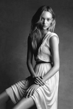 Gemma Ward Photographed by Patrick Demarchelier.