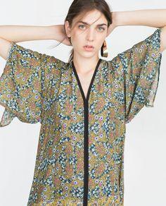 PRINTED TUNIC-Mini-Dresses-WOMAN | ZARA United States