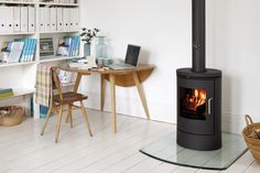 Wood burning Stove & Multi-fuel Stoves Online In The UK - Woodburner Warehouse Small Fireplace, Stove Fireplace, Fireplace Ideas, Morso Stoves, Wood Stoves, Living Room Kitchen, Home Living Room, Multi Fuel Stove, Compact Living