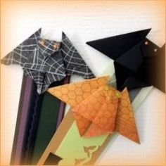 How To Origami Bat Bookmark By Sherry Venegas