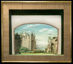 [Medieval rural France as imagined by 1959 designer] Set model   Messel, Oliver Hilary Sambourne   V&A Search the Collections