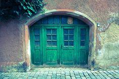 Stone, City, Door, Architecture