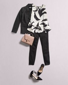 Spring forward! Give your wardrobe a peek into Spring by introducing floral prints to your workwear. #StylistTip