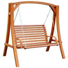 Bentley Garden Wooden Swing Seat