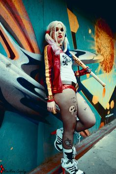 Harley Quinn Suicide Squad Cosplay https://www.facebook.com/mimimoon.cosplay/