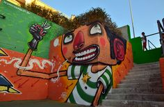 Unique street art of famous street artists: Like a Vision from Mister Thoms