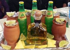 Cantaritos Mexican Birthday Parties, Mexican Fiesta Party, Fiesta Theme Party, Party Themes, Party Ideas, 21st Birthday, Mexican Snacks, Mexican Drinks, Mexican Food Recipes