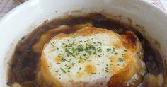バケッドを家で作った時一緒に作ったスープです。時間はかかるけど材料もシンプルでしかもおいしい!玉ねぎの甘さが最大限に引き出されてます(^^)ぜひ作って見てください。 Eggs, Breakfast, Recipes, Food, Breakfast Cafe, Egg, Rezepte, Essen, Recipe