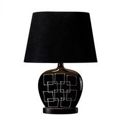 One Light Gloss Black Table Lamp : 6UQWM | Annapolis Lighting