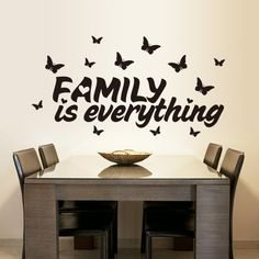 Wall Stickers Quotes Inspirational Lettering Sticker Wall Decals Art Mural Black for sale online Office Wall Decals, Large Wall Decals, Kids Wall Decals, Nursery Wall Decals, Wall Stickers Islamic, Wall Stickers Quotes, Diy Wall Stickers, Wallpaper Wall, Butterfly Wall Decor