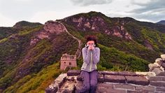 On top of the world! Camping and exploring an un-restored section of the #GreatWallOfChina, not open to the public. Such a breath-taking experience!