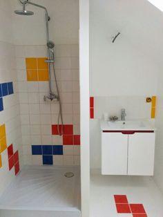 Salle de bain Tetris