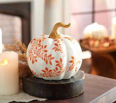 Mini Pumpkins, Painted Pumpkins, Fall Pumpkins, Diy Crafts For Home Decor, Fall Home Decor, Autumn Crafts, Holiday Crafts, Pumpkin Carving Contest, Valerie Parr Hill
