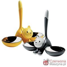 Miski dla kota A di Alessi Tigrito - CzerwonaMaszyna.pl