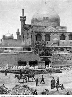 Imam Iranian Historical Photographs Gallery:The holy shrine of Imam Reza Shrine seen with the golden dome Iran Pictures, Old Pictures, Old Photos, Islamic Images, Islamic Pictures, Imam Reza, Imam Ali, Qajar Dynasty, Sufi Saints