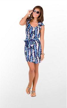 Lilly Pulitzer Maya dress. Love this pattern.