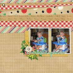 Masterpiece ~ Template by ScrapStack 21 & kit is Best of Italy by Magical Scraps Galore.