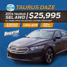 We're in a Taurus Daze at Brighton Ford!