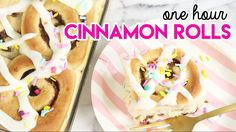 How to Make One Hour Cinnamon Rolls!