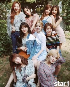 twice @star1 june issue, twice profile, twice photoshoot 2017, twice airport 2017
