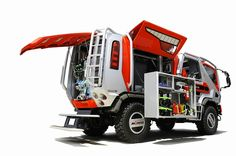 Concept Rally Raid Support Truck