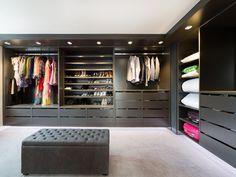 Closet Design Ideas We Love at Design Connection, Inc. | Kansas City Interior Design http://www.DesignConnectionInc.com/Blog #InteriorDesign #DressingRoom