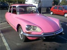 PInk Citroen   My favorite car ever