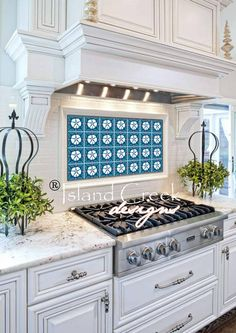 sand dollar tile design, sand dollar backsplash, nautical backsplash, beach backsplash, costal kitchen backsplash