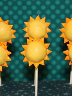 Sun cake pops                                                                                                                                                                                 More