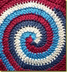 Spiral crocheting (with tutorial)