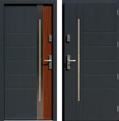 Drzwi wejściowe do domu z katalogu inox wzór 475,6-475,16