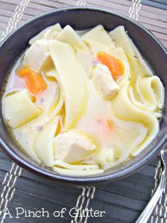 Homestyle Chicken Noodle Soup