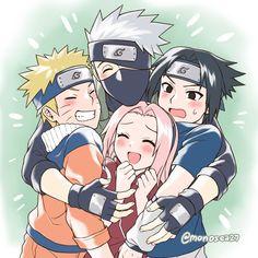 Team 7, Naruto Shippuden, Boruto, Kakashi, Sea, Anime, Fictional Characters, The Ocean, Cartoon Movies
