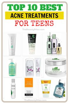 The most comprehensive, updated list of the best acne treatments for teens ( boys & girls). Easily discover the best teenage acne products designed for your skin! Click the image for more detail. Best Acne Treatment, Acne Treatments, How To Cure Pimples, Teenage Acne, Best Acne Products, Natural Oils For Skin, Pimples Remedies, Types Of Acne, Teen Boys