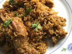 Chicken Biryani using coconut milk - pressure cooker method Well Seasoned, Biryani Recipe, Recipe Link, Chicken Rice, Taste Buds, Coconut Milk, Fried Rice, Cooker, Spices