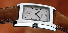 A Baume & Mercier Hampton watch from 1994, when the collection was initially introduced.