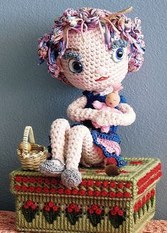 Enid and her dolly by Dutzie, via Flickr