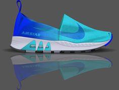 Nike | Air Stab Espadrille by Luke McConnie, via Behance