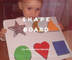 The time has come when Little L. started to have great interest in shapes. She enjoys playing with the shape sorting cube or the Tomy's shape and colour sorting eggs: Her favourite shapes (th…