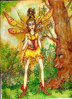"""By Memory Howell """"Fairies of Memory"""" on Face Book © 2014"""