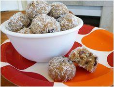 Raw Cacao-Coconut Cookie Bites #TheNourishingHome
